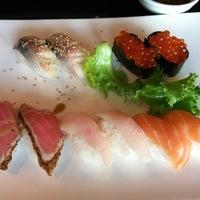 Photo taken at Sushi Wabi by Ravi S. on 4/18/2012