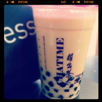 Photo taken at ChaTime (曰出茶太) by Melissa N. on 7/2/2012