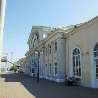 Photo taken at Poltava-Kyivska Railway Station by Vadim L. on 8/6/2012