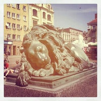 Photo taken at Rynek by Piotr R. on 5/9/2012