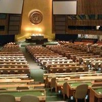 Photo taken at United Nations by Fernando M. on 4/4/2012
