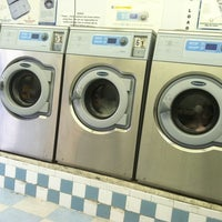Photo taken at Wash Up Laundromat by Bethany on 3/20/2012
