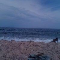 Photo taken at Пляж 15-16 Черноморки by Marina N. on 7/31/2012