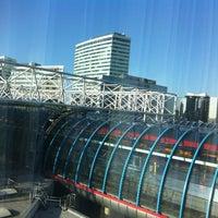 Photo taken at Amsterdam Sloterdijk Station by Hamdi A. on 6/16/2012