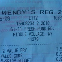 Photo taken at Wendy's by Pete C. on 6/8/2012