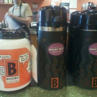 Photo taken at BIGGBY COFFEE by Rebecca on 6/9/2012