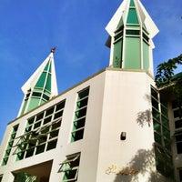 Photo taken at Masjidul Ibrahim by Inaz on 6/21/2012