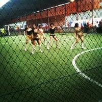 Photo taken at Hanggar Futsal by Ilham A. on 4/21/2012