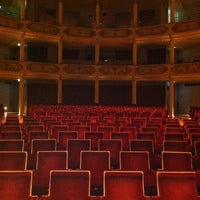 Photo taken at Teatro Ristori by Nicola Z. on 5/3/2012