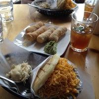 Photo taken at Arepa Cafe by Karen Ann S. on 4/14/2012