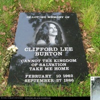 Photo taken at Cliff Burton Memory Stone by Anecdotario del Rock on 2/10/2012