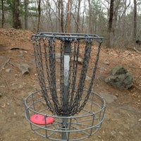 Photo taken at Borderlands State Park Disc Golf by Phil W. on 4/8/2012