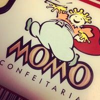 Photo taken at Momo Confeitaria by Rodrigo B. on 4/5/2012