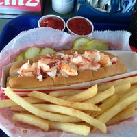 Photo taken at Bob's Clam Hut by SooFab on 5/31/2012