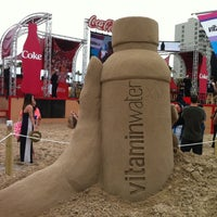 Photo taken at vitaminwater® spring break 2012 @ Coca-Cola Beach by sandy f. on 3/11/2012