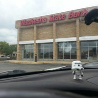 Photo taken at Waukesha State Bank by Renee P. on 9/7/2012