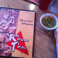 Photo taken at Khow Thai Cafe by Dustin C. on 3/11/2012