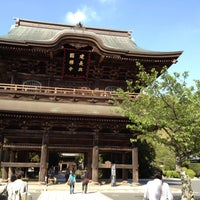 Photo taken at Kenchō-ji by max t. on 4/28/2012