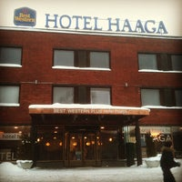 Photo taken at Hotel Haaga Central Park by GigaBass on 2/17/2012