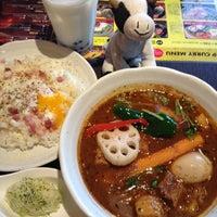 Photo taken at 国道12号線スープカレー本舗 by minibear on 7/23/2012