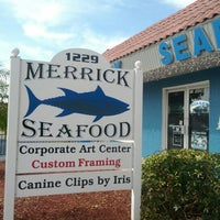 Photo taken at Merrick Seafood by Eric T. on 2/18/2012