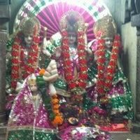 Photo taken at Sri hanuman temple by Hemanshu S. on 4/3/2012