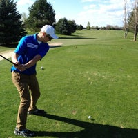 Photo taken at Fox Tail Golf Course by Jared B. on 4/15/2012