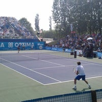 Photo taken at Optima Open by Frédéric d. on 8/19/2012