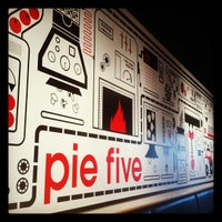 Photo taken at Pie Five Pizza Co. by William J. on 4/8/2012