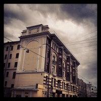 Photo taken at Bolshaya Dmitrovka Street by Daniel L. on 5/23/2012