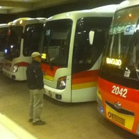 Photo taken at Siesta Bus Station by Lei D. on 6/14/2012