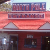 Photo taken at North Pole! Home of Santa's Workshop by askmehfirst on 8/13/2011