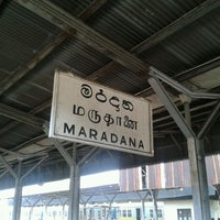 Photo taken at Maradana Railway Station by Lahiru N. on 11/15/2011
