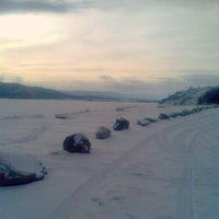 Photo taken at Ghost Reservoir by Scenic Travel Canada on 1/26/2012
