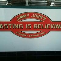 Photo taken at Jimmy John's by Julie on 6/14/2012