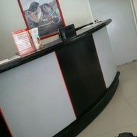 Photo taken at Banco Santander by Emmanuel V. on 6/1/2012