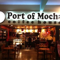 Photo taken at Port of Mocha Coffee House by Vivian Q. on 8/14/2011