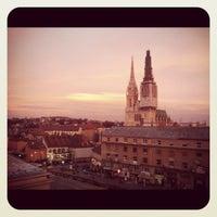 Photo taken at GREY Zagreb by Nina P. on 1/13/2012