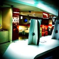 """Photo taken at Alitalia Lounge """"Giotto"""" by Fabio B. on 9/21/2011"""