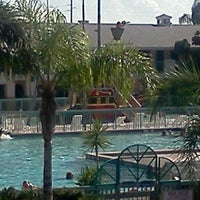Photo taken at Resort on Cocoa Beach by Alexis C. on 9/11/2011