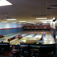 Photo taken at Frankfort Bowling Alley by Tom K. on 3/10/2012