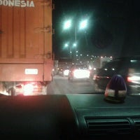 Photo taken at Tol Surabaya - Gresik by Dhay H. on 9/10/2012