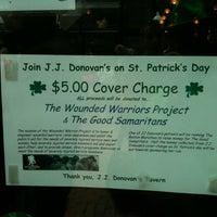 Photo taken at JJ Donovan's Tavern by Trisha L. on 3/17/2012