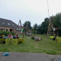 Photo taken at Scouts Sint-Bernadette by Jonatan M. on 6/27/2012