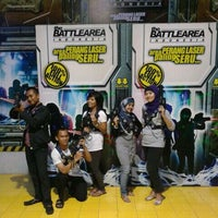 """Photo taken at """"The Battlearea Indonesia"""" BNS by Etchi J. on 10/25/2011"""