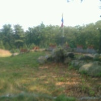 Photo taken at Marshall Street Pyramids Disc Golf Course by Terry M. on 9/3/2011
