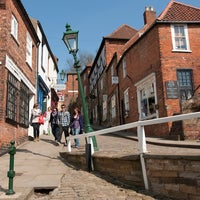 Photo taken at Steep Hill by University of Lincoln on 8/18/2011