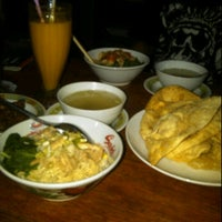 Photo taken at Kinoy Mie Ayam Ceker by Agnes A. on 12/6/2011