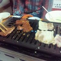 Photo taken at 焼肉 AZIME by Akko E. on 1/21/2012