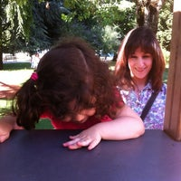 Photo taken at Parque de la Milagrosa by Mateo on 7/1/2012